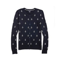 Anchor Print Cardigan | Tommy Hilfiger USA