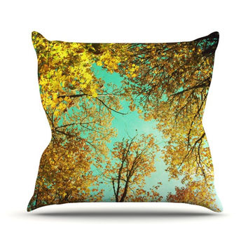 "Sylvia Cook ""Vantage Point"" Throw Pillow"