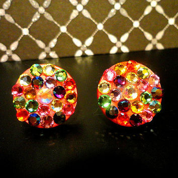 Beautiful Sparkly Rainbow mixed color Swarovski by SparklingCases