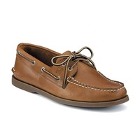 Sperry Topsiders - Authentic Original Boat Shoe Sahara Leather at Mar-Lou Shoes