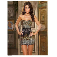 Sexy Lycra Strapless Coffee Nightgown With Belt [TQL120319011] - $27.89 : Zentai, Sexy Lingerie, Zentai Suit, Chemise