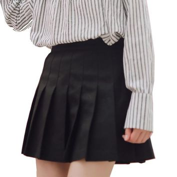 Women Harajuku Plaid Skirt Preppy Style Kawaii Skirts Lolita Mini Cute School Uniforms Saia Faldas Ladies Jupe SK8034