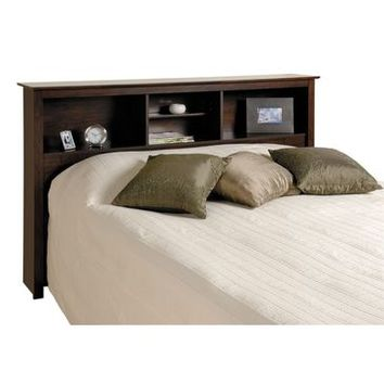 Prepac Espresso Double/ Queen Bookcase Headboard