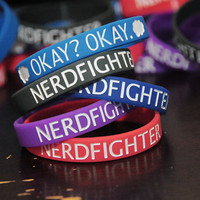 Geeky Fandom Silicone Bracelets!    What's your fandom...