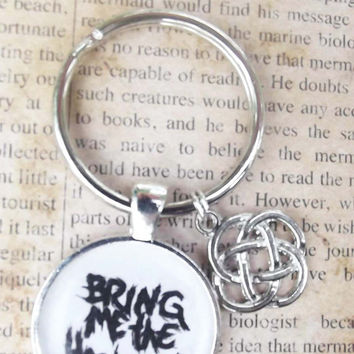 Bring Me the Horizon Key Chain by DarlingScars on Etsy