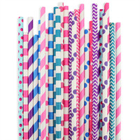 Berry Paper Straw Assortment