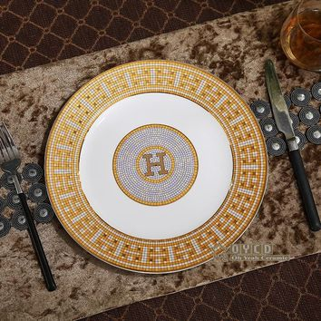 Luxury Gold Dinner Plate