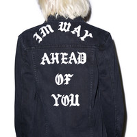 UNIF Ahead Of You Jacket Black
