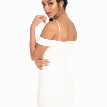 Padded Off-Shoulder Dress, NLY One
