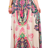 Paisley Passion Maxi Skirt | Skirts at Pink Ice