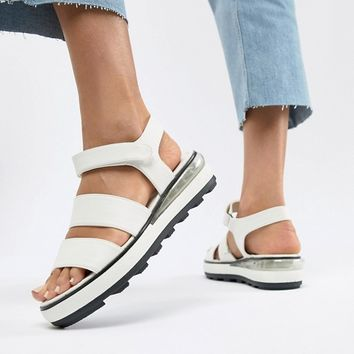 Sixty Seven Flatform Heeled Sandals at asos.com