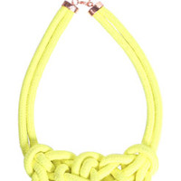 Gina Knot Detail Necklace