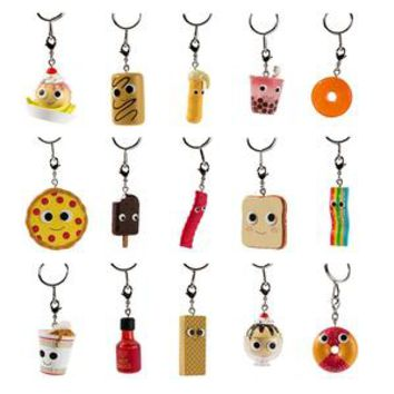 Yummy World Sweet and Savory Keychains