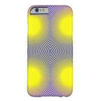 Geometric Abstract Yellow Purple Pink Barely There iPhone 6 Case