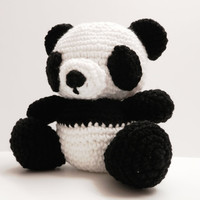 Crochet Panda READY TO SHIP