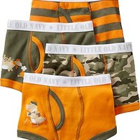 Boxer-Brief 4-Packs for Baby