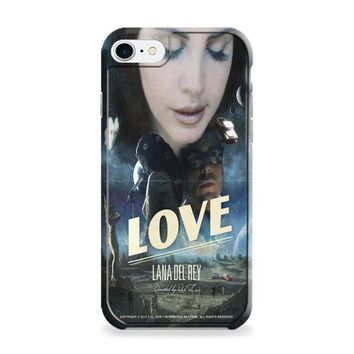 Lana Del Rey Love iPhone 7 | iPhone 7 Plus Case