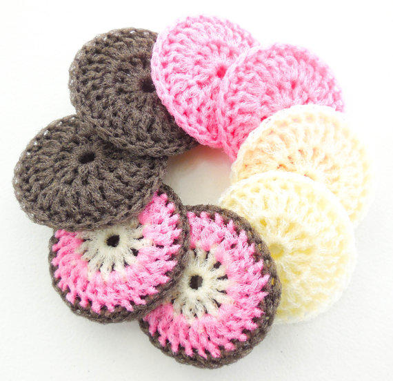Nylon Net Pot Scrubber Set Of 8 The From Artistbeebee On Etsy