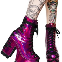 Electric Dreams | CORSET BOOTS [PREORDER]