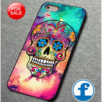Sugar Skull Colorful   for iphone, ipod, samsung galaxy, HTC and Nexus PHONE CASE
