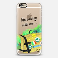 Run Away With Me - Travel The World iPhone 6 case by Love Lunch Liftoff | Casetify
