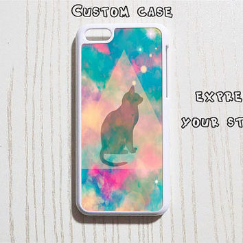 iPhone 5 Case Personalized iPhone 6 Case iPhone 6 Plus Cat iPhone 4 4s Case iPhone 5c Case Custom iPhone Case - Design 11