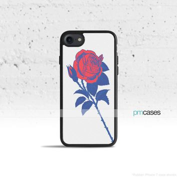 Single Rose Phone Case Cover for Apple iPhone iPod Samsung Galaxy S & Note