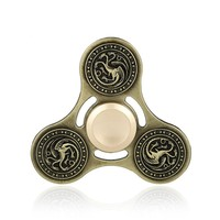 4 Styles Hand Spinner Game of Thrones Metal Finger Spinner Anti-stress Tri Spinner Three Heads Of The Dragon