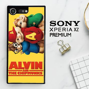 Alvin And The Chipmunks F0267 Sony Xperia XZ Premium Case