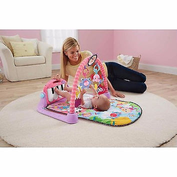Baby, Infant Kick 'N' Play Piano Musical Activity Tummy Time Gym
