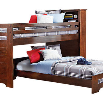 Carter's Kids Collection Lost Creek Espresso 6 Pc Jr. LoftTwin Twin Bunk