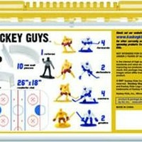 Kaskey Kids Hockey Guys - Inspires Imagination with Open-Ended Play - Includes 2 Full Teams and More - For Ages 3 and Up