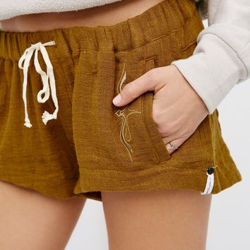Free People Quartz Hill Linen Short