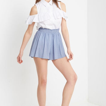 Mallory Striped Soft Shorts