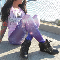 Galaxy-Leggings-nebula-pink-purple-stars-moon