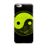 "Frederic Levy-Hadida ""Bad Ass Ying Yang"" iPhone Case"