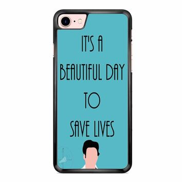 Greys Anatomy Shepherd iPhone 7 Case
