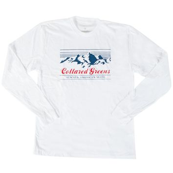 Grand Tetons Long Sleeve T-Shirt (Front Design)