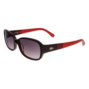 Lacoste Red Rectangle Sunglasses