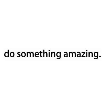do something amazing wall door Bedroom Vinyl Wall Decal Sticker