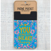 Natural Life Phone Pocket - My Heart
