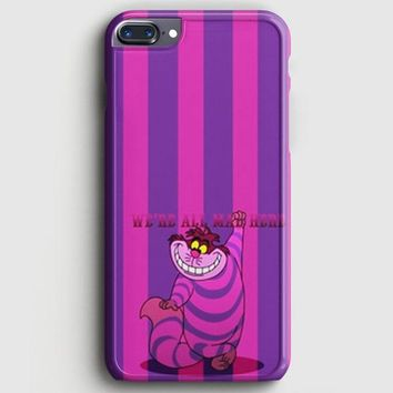 Alice In Wonderland Cat Purple iPhone 7 Plus Case