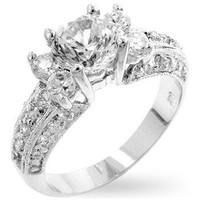 Brilliant Engagement Ring, size : 07