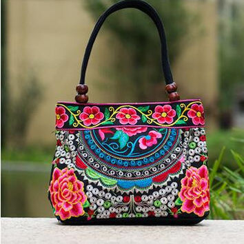 embroidery Lady carry bag