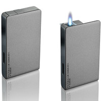 Porsche Design PD9 Grey Jet Torch Flame Lighter