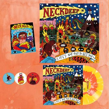Life's Not Out To Get You Flag + LP Bundle : HLR0 : Neck Deep