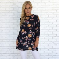 Always & Forever Floral Sweater Top