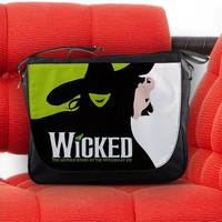 Wicked The Untold Story of The Witches of OZ Unisex Messenger Sling Laptop Notebook School Bag