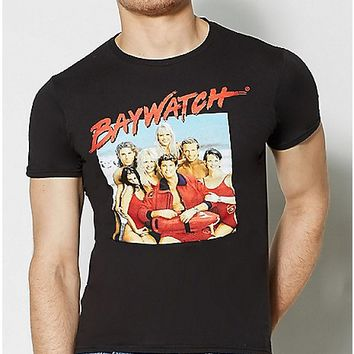 Group Baywatch T Shirt - Spencer's