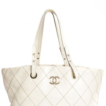 Chanel Grey Tote - Beauty Ticks